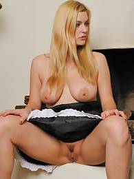 Danielle with huge tits masturbate
